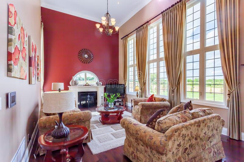 Family room royalty free stock images