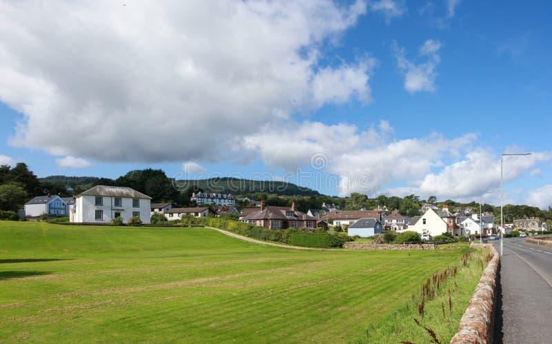 Isle of arran landscape royalty free stock photography
