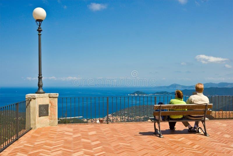 Beautiful View, Isle of Elba, Italy. royalty free stock photos