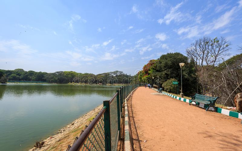 Lal Bagh Botanical Garden - Bangalore/Bengaluru. Beautiful view of Lal Bagh Botanical Garden, one of the tourist attractions in Bangalore, with plenty variety of stock photography
