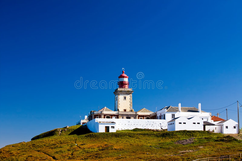 Download Beautiful View Of Lighthouse In Cabo Da Roca Stock Image - Image: 7168255