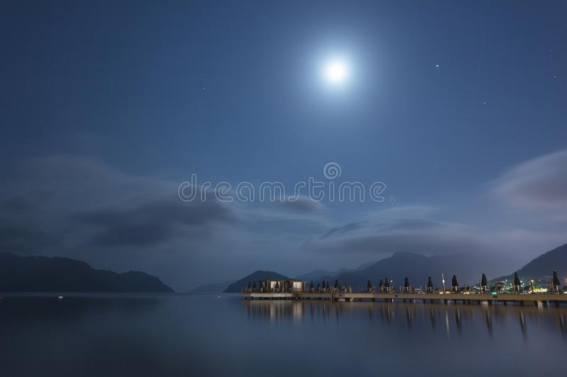 Beautiful view of Marmaris royalty free stock photography