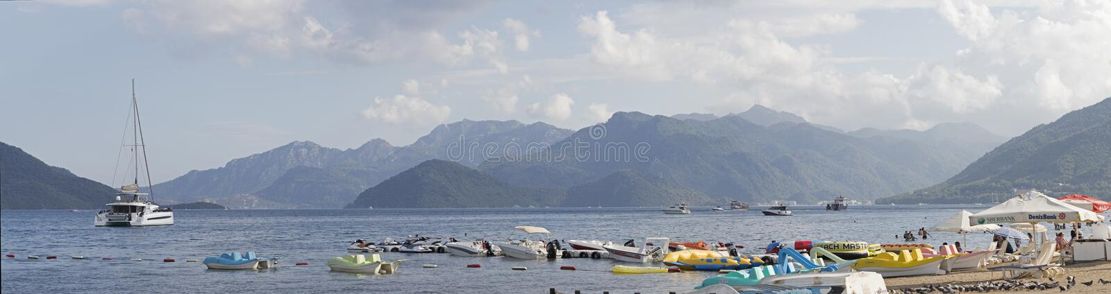 Beautiful view of Marmaris royalty free stock photo