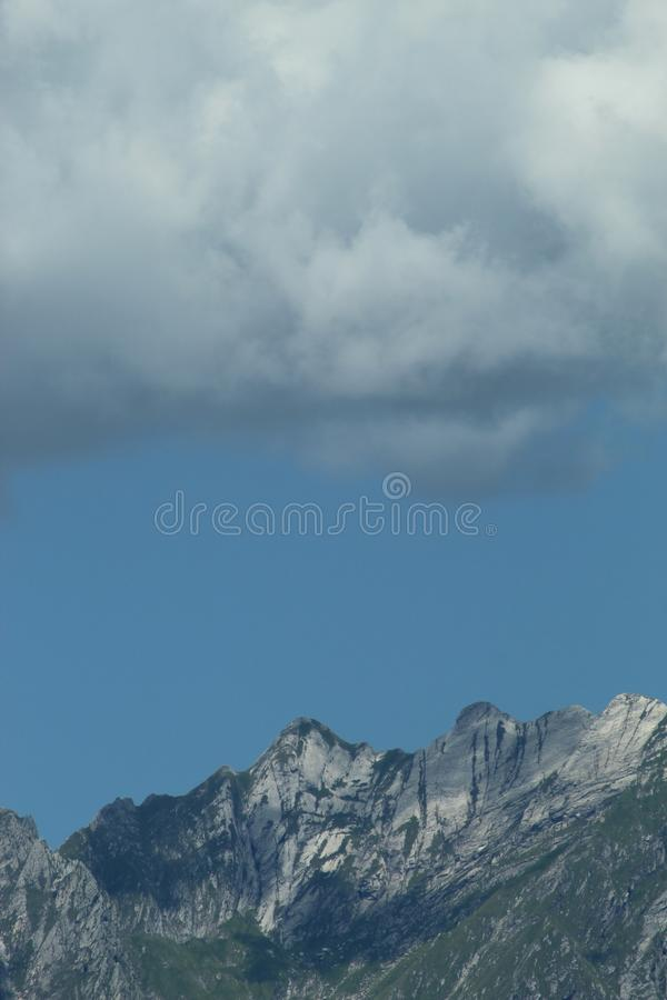 The beautiful view of the mountain landscape. royalty free stock images