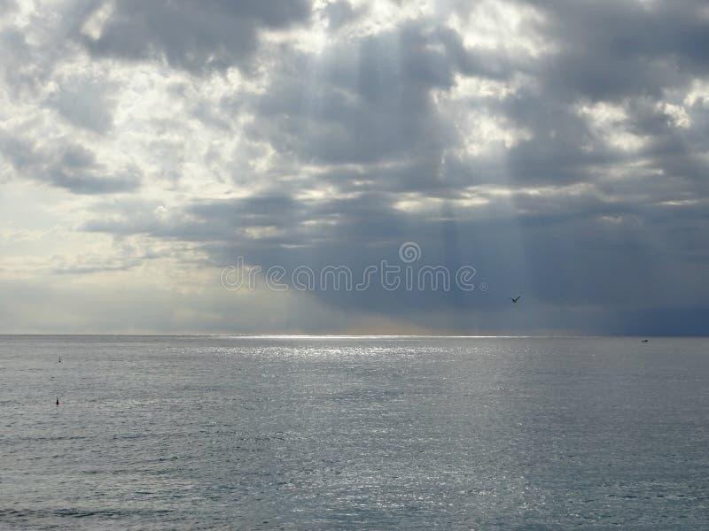 Beautiful view in Nice stock photos