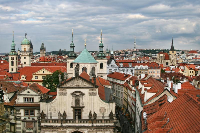 Beautiful view of Prague royalty free stock images