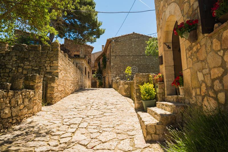 Siurana Village, Spain royalty free stock photography