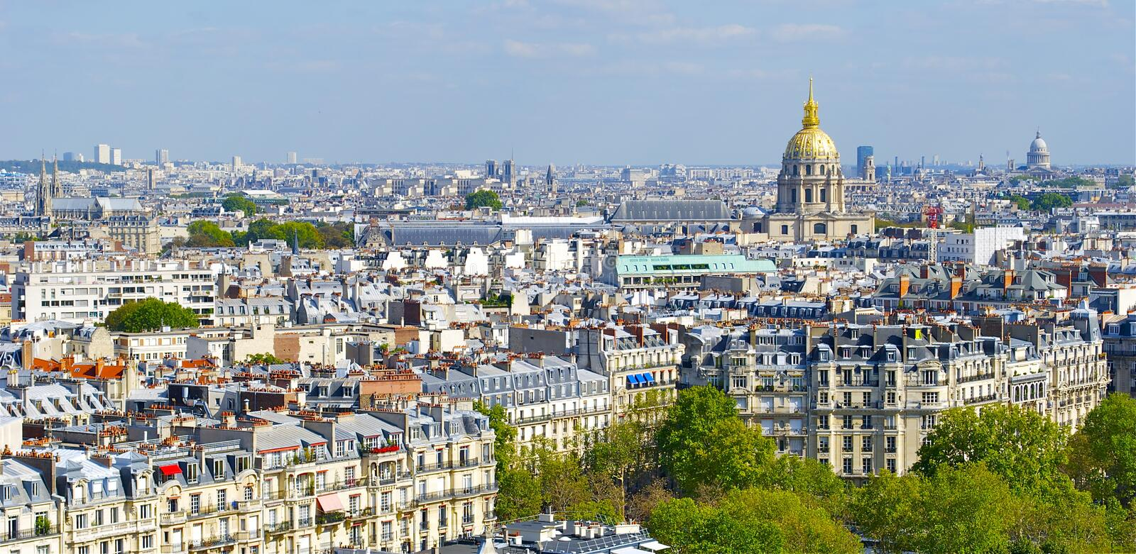 Download Beautiful View Of Paris From The Eiffel Tower Stock Photos - Image: 26847743