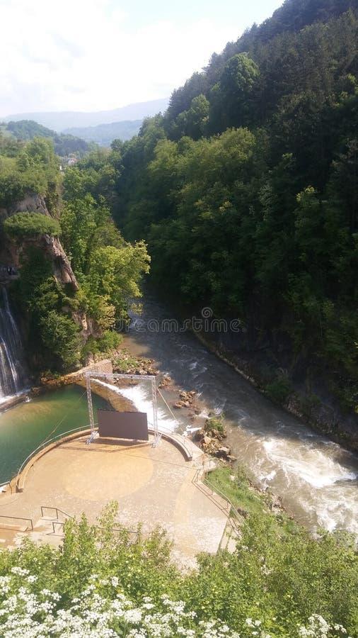 Pliva river royalty free stock image