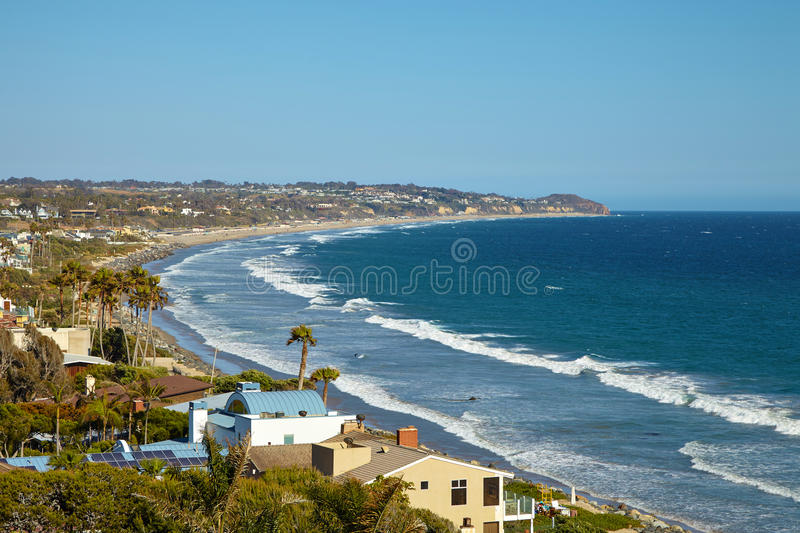 Beautiful view of the Point Dume State Beach. Malibu stock photos