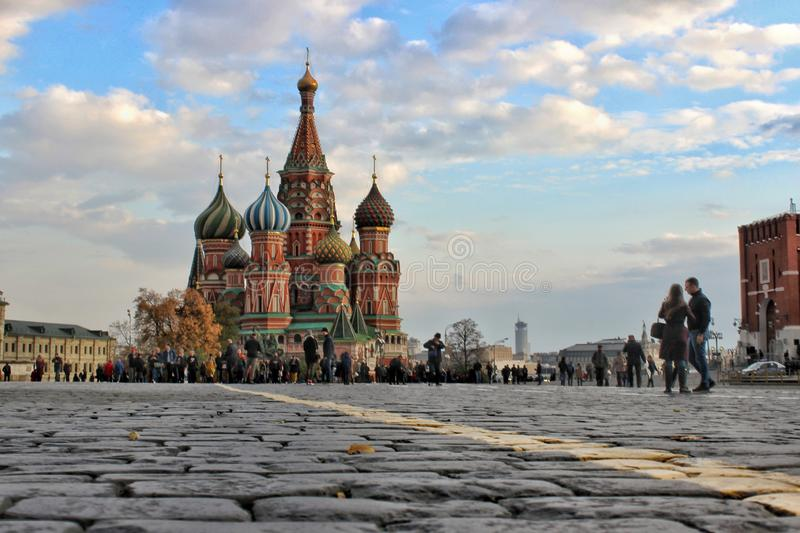 Red Square. Moscow. royalty free stock images