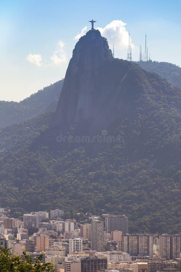 Rio de Janeiro aerial view royalty free stock photos