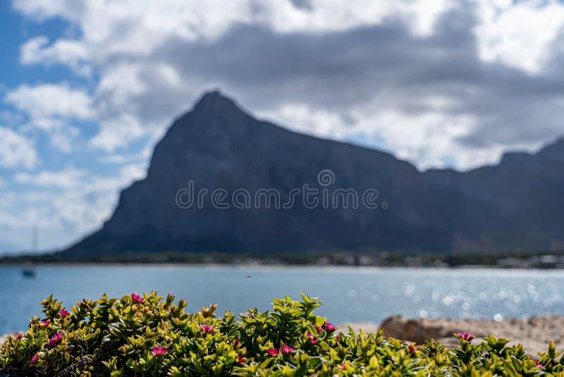 Beautiful view of  San Vito Lo Capo. Beautiful view of San Vito Lo Capo Italy Sicily stock images
