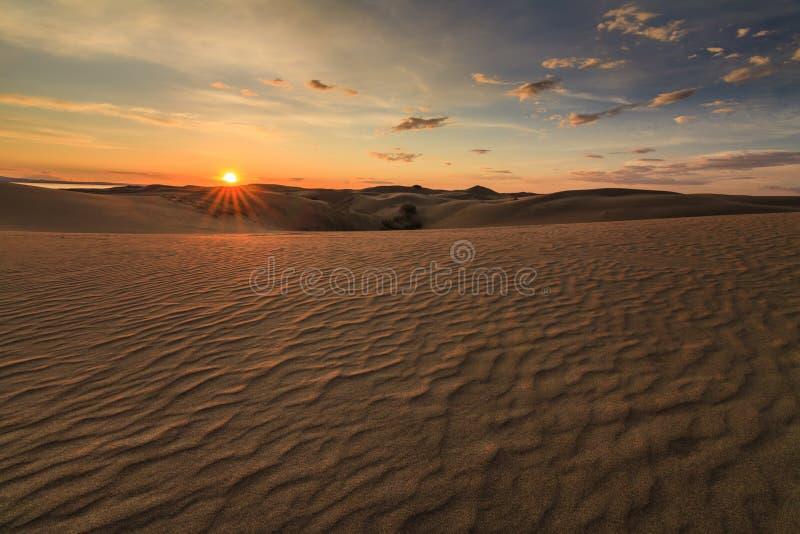 Beautiful views of the Gobi desert. Mongolia stock images