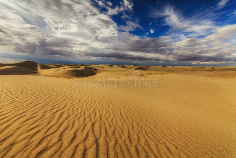 Beautiful views of the Gobi desert. Mongolia royalty free stock photo