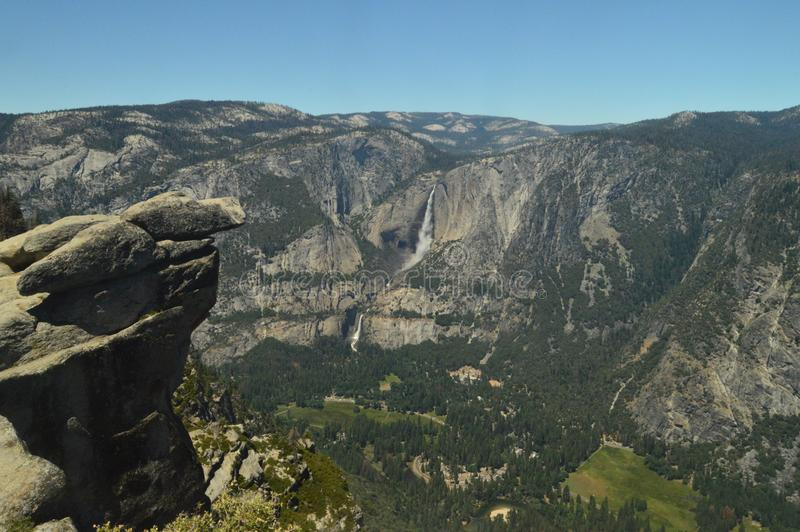 Beautiful Views Of The Valley Of Yosemite National Park. Nature Travel Holidays. royalty free stock photo