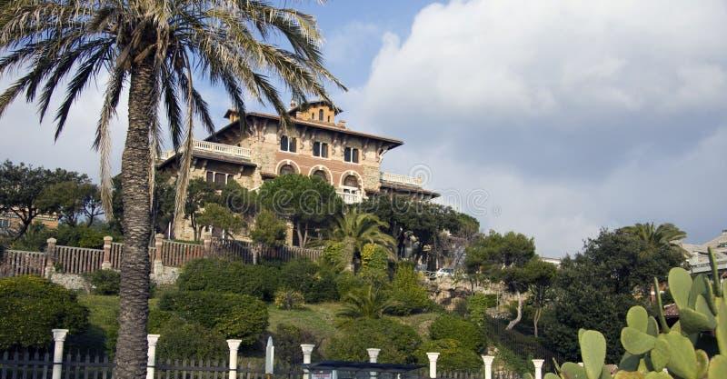 Download Beautiful Villa Gaslini In Genoa Stock Image - Image: 7726351