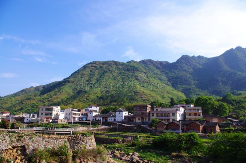 Beautiful village of southwest china stock images