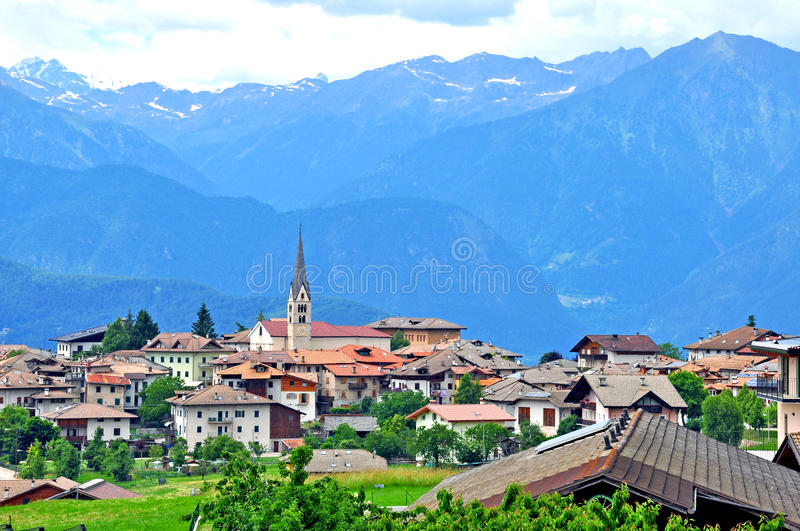 Download Beautiful Village In Trentino, Italy Stock Image - Image: 41762239