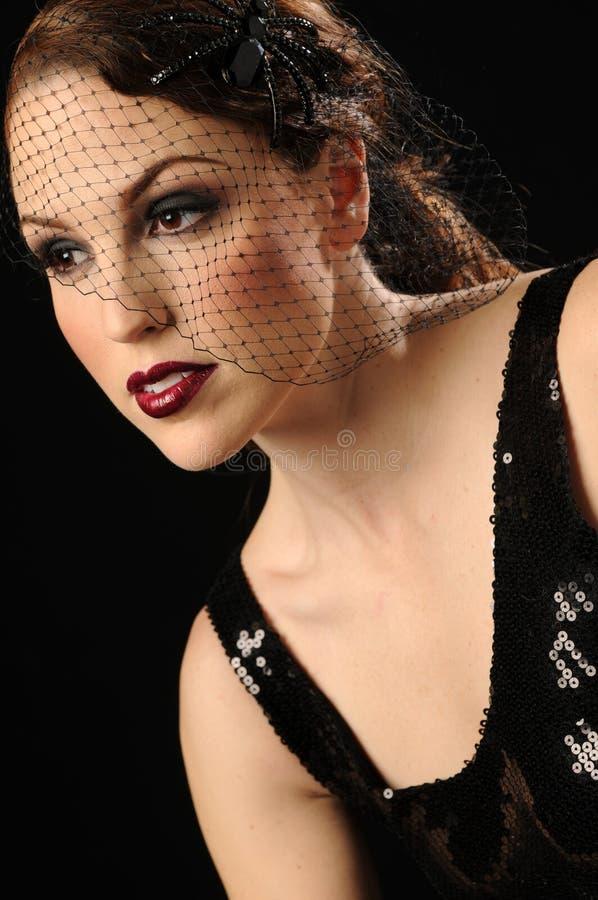 Download Beautiful vintage woman stock image. Image of head, nostalgic - 20234541