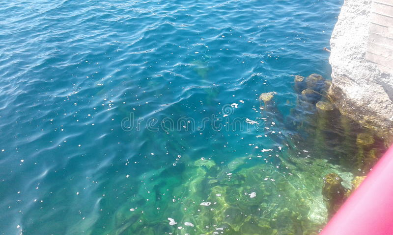 Beautiful water royalty free stock photography