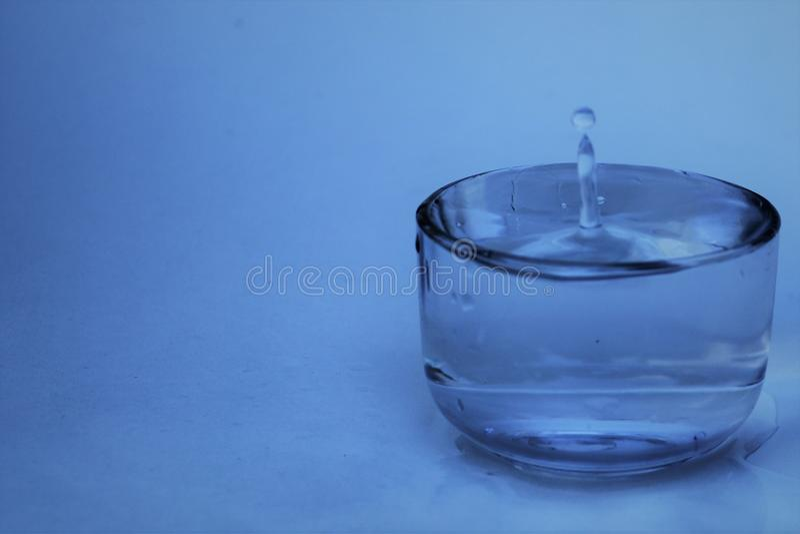 Beautiful water Drop Photo. Wallpaper royalty free stock photo