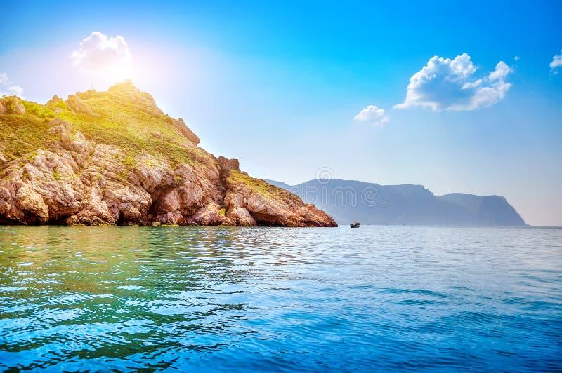 Beautiful water landscape Summer Day stock photo