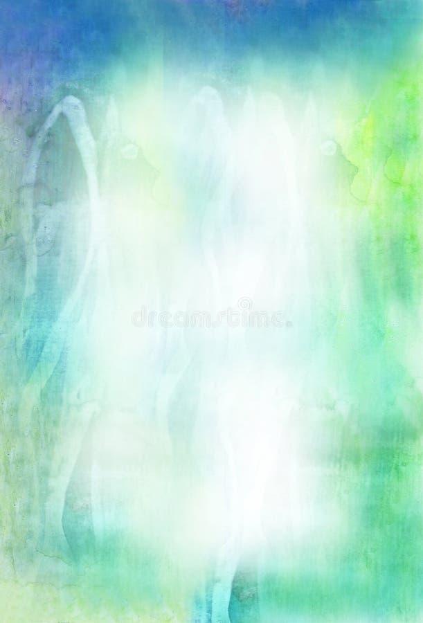 Beautiful watercolor background stock illustration