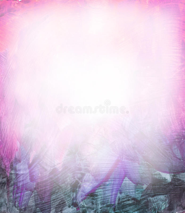 Beautiful watercolor background in soft purple stock illustration