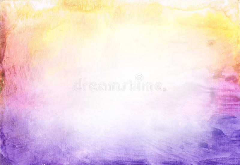 Beautiful watercolor background in vibrant purple royalty free illustration