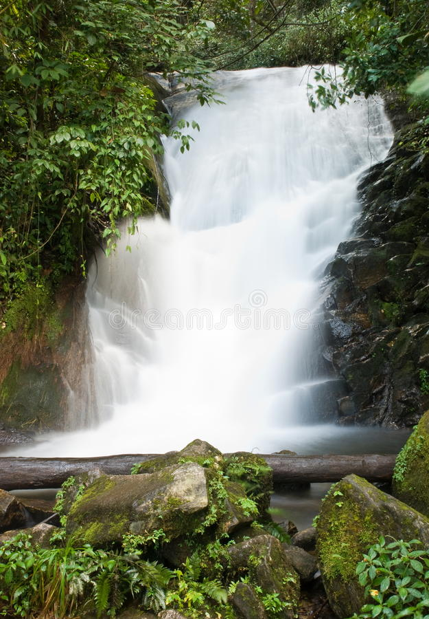 Download Beautiful Waterfall In Thailand Stock Photo - Image: 27484844