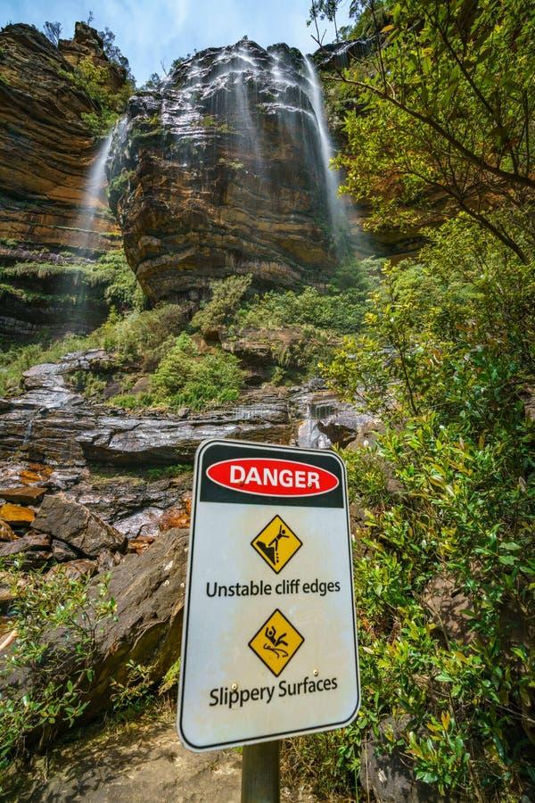 Beautiful waterfalls, wentworth falls, blue mountains, australia 23 stock photography