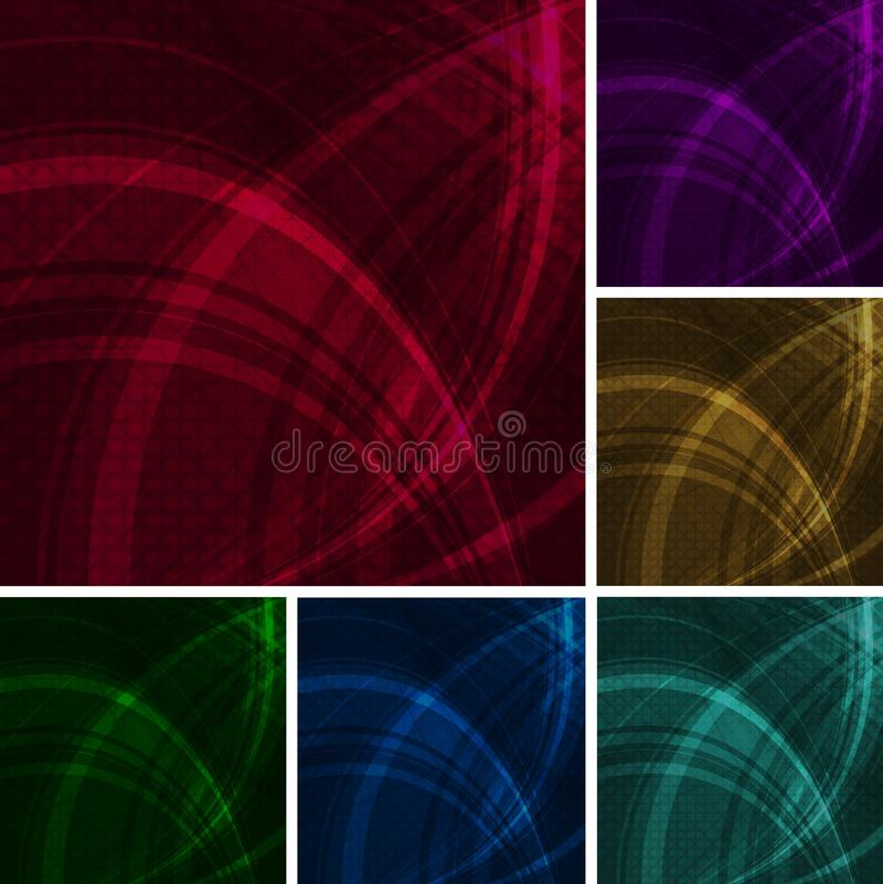 Download Beautiful wavy backdrops stock vector. Illustration of background - 17386841
