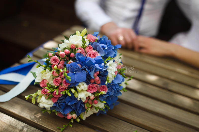 Download Beautiful wedding bouquet stock image. Image of leisure - 90513583