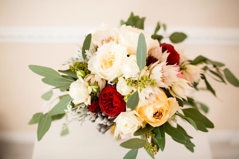 Beautiful wedding bouquet royalty free stock image