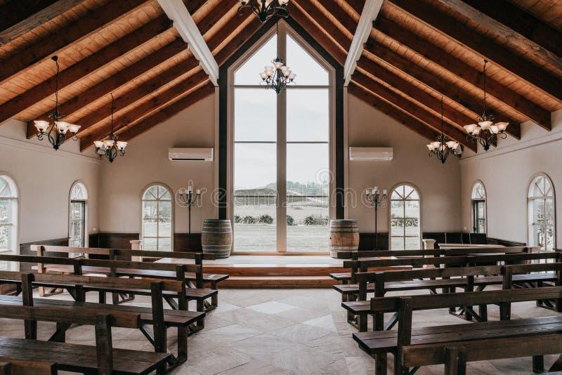 Beautiful Wedding Chapel royalty free stock images