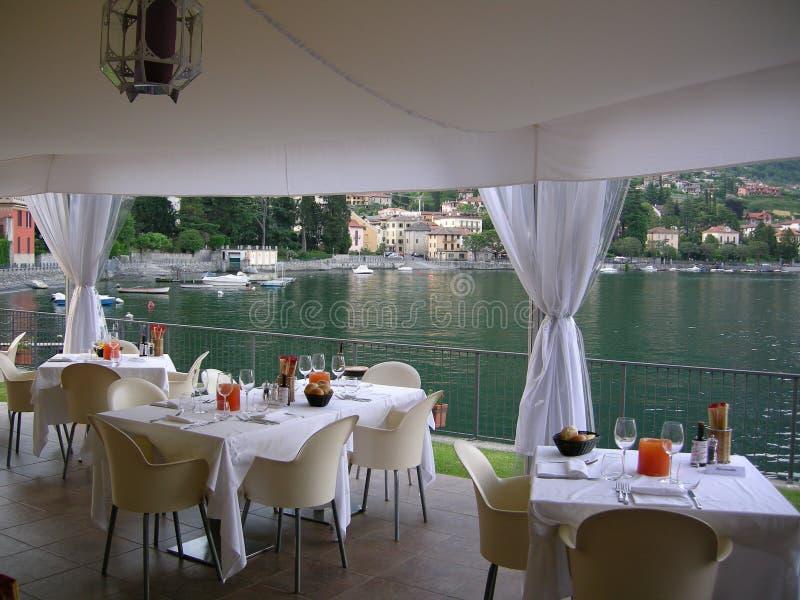 Beautiful Wedding set Como Italy royalty free stock photo