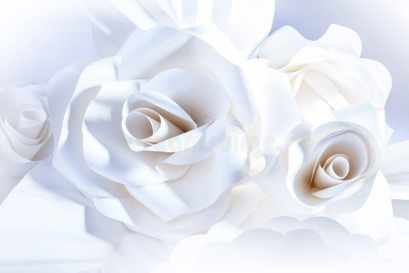Download Beautiful White Roses On White Background. Stock Image - Image: 32231645