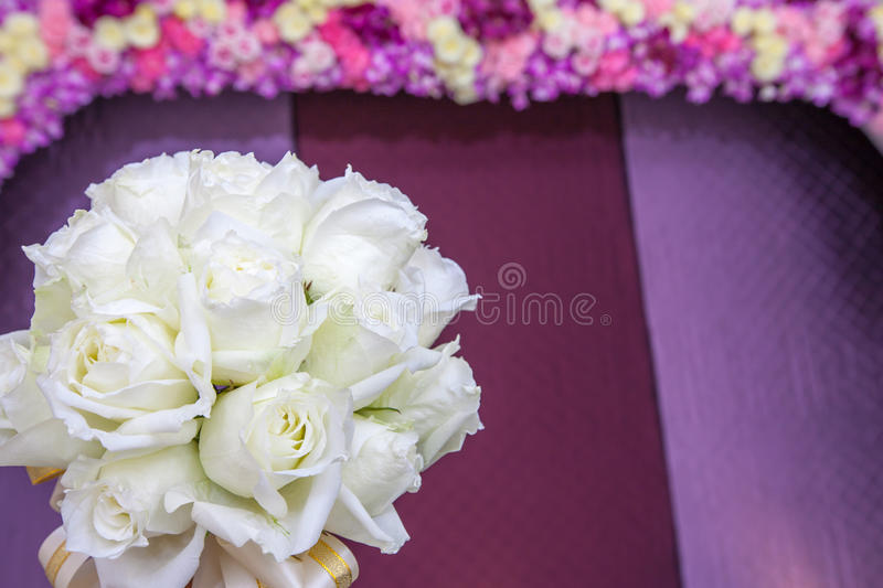 Download Beautiful White Wedding Flowers Bouquet Stock Photo - Image: 36033656