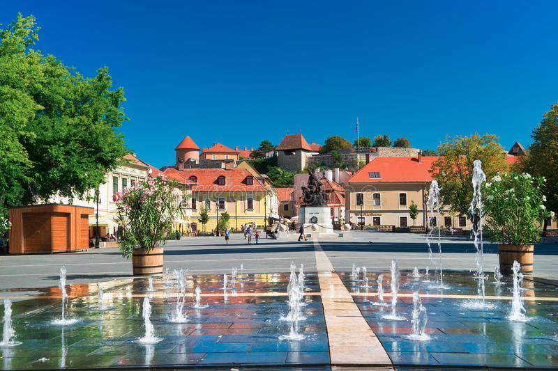 The Beautiful Wine Region of Eger in Hungary royalty free stock images