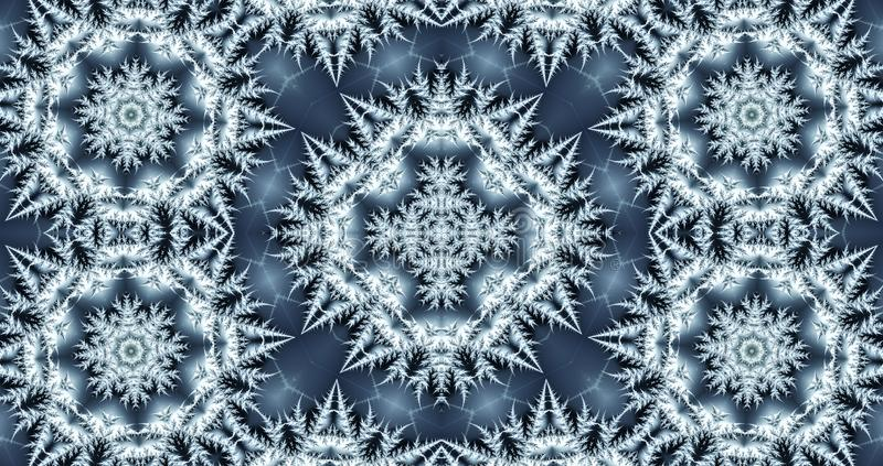 beautiful winter abstract background vector illustration
