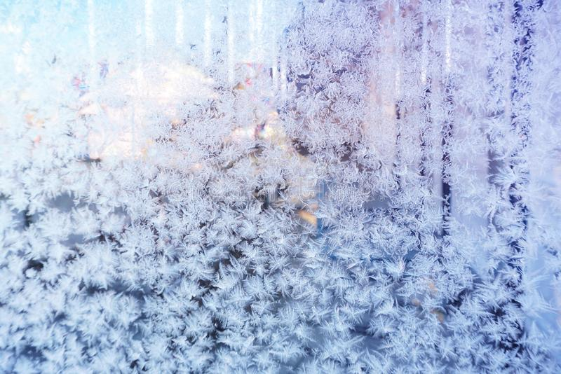 Beautiful winter background seasonal nature and the weather in winter royalty free stock image