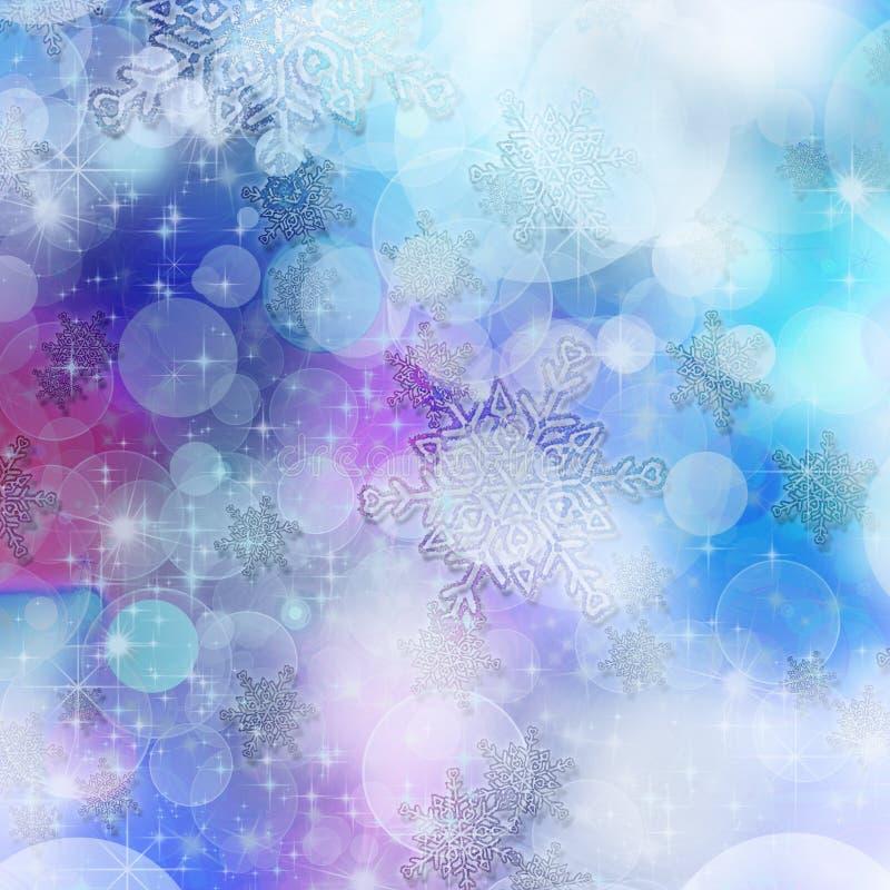 Beautiful Winter Bokeh royalty free stock photos