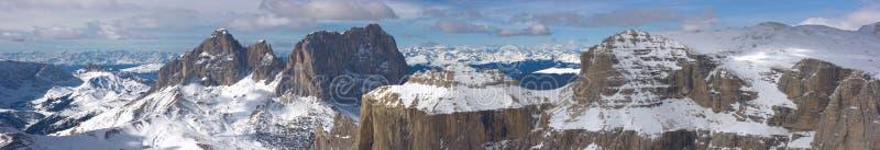 Beautiful winter mountain landscape stock photography