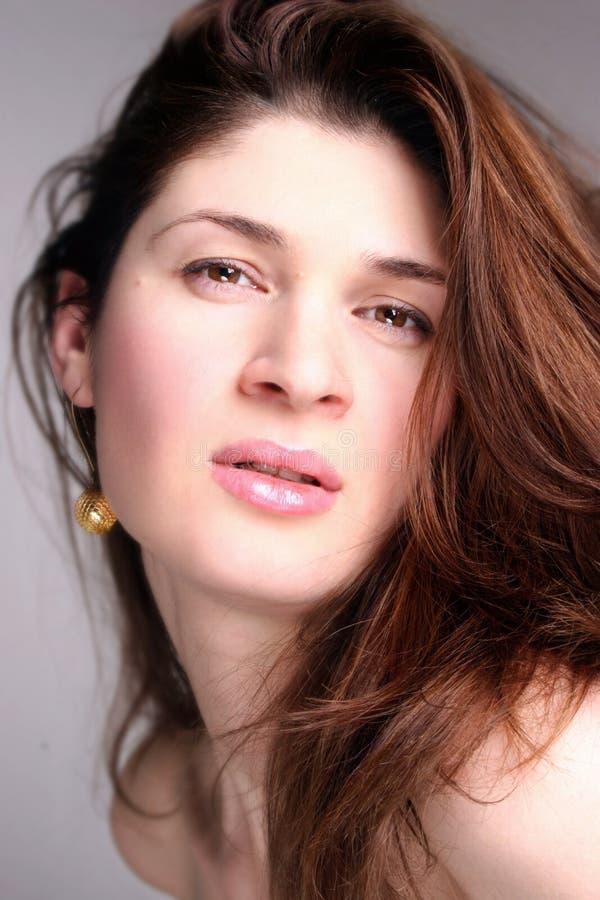 Beautiful woman 03 stock image