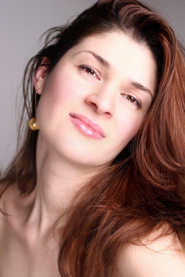 Beautiful woman 06 stock image