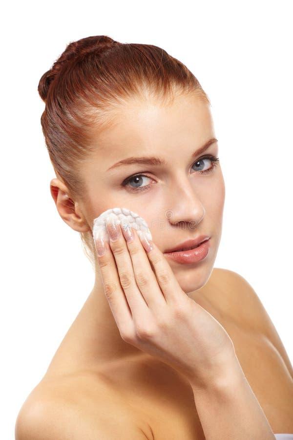 Download Beautiful woman stock image. Image of swab, female, hygiene - 13764751