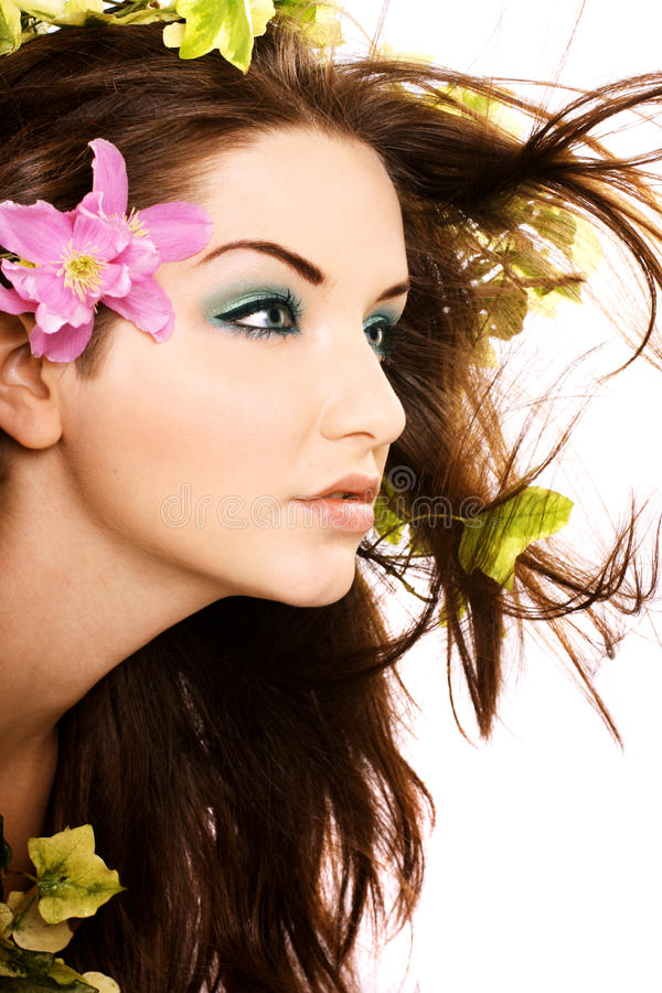 Beautiful woman stock photos