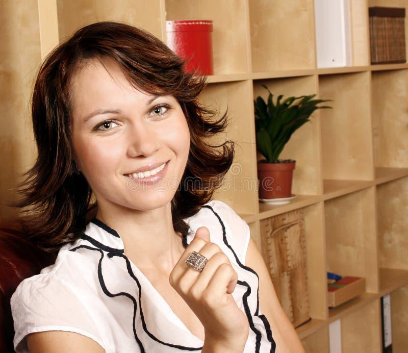 Download Beautiful woman stock photo. Image of coaching, office - 16452770