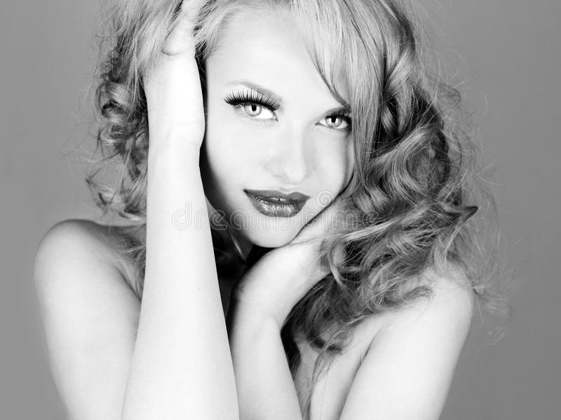 Download Beautiful woman stock image. Image of beautiful, lady - 24134917